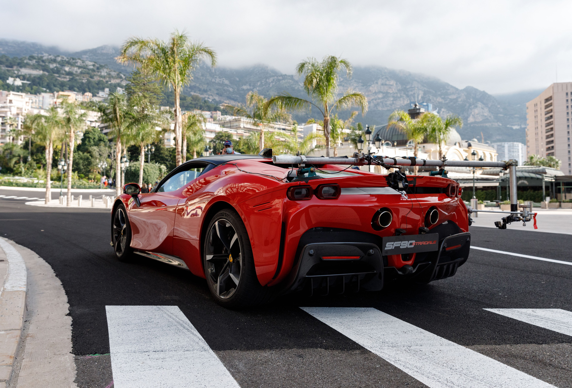 "Ferrari recreates ""Rendez-Vous"" film in Monaco with F1 driver, SF90 Stradale"