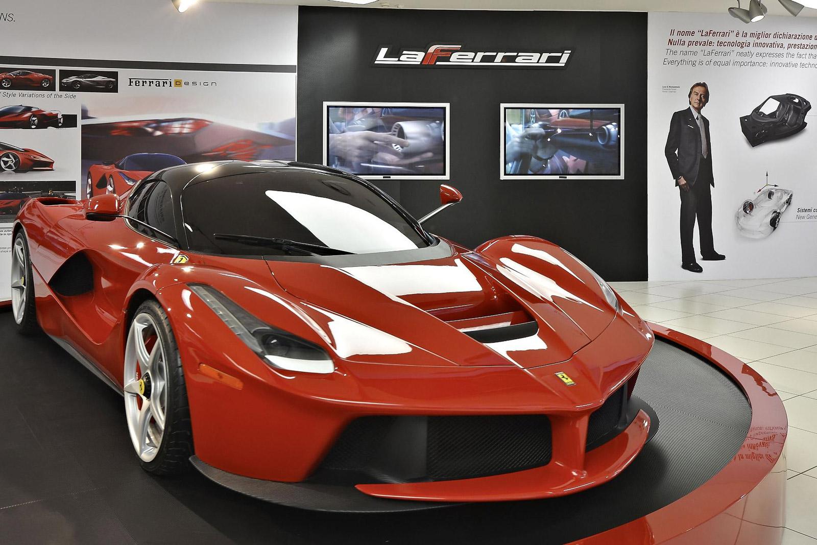 LaFerrari Headlines New Exhibition At The Ferrari Museum