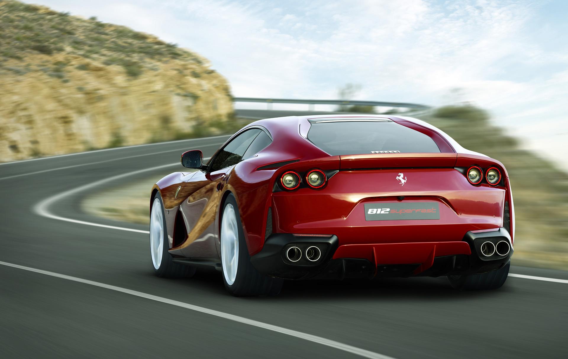 Ferrari 812 Superfast, McLaren F1 successor, TRD-enhanced ...