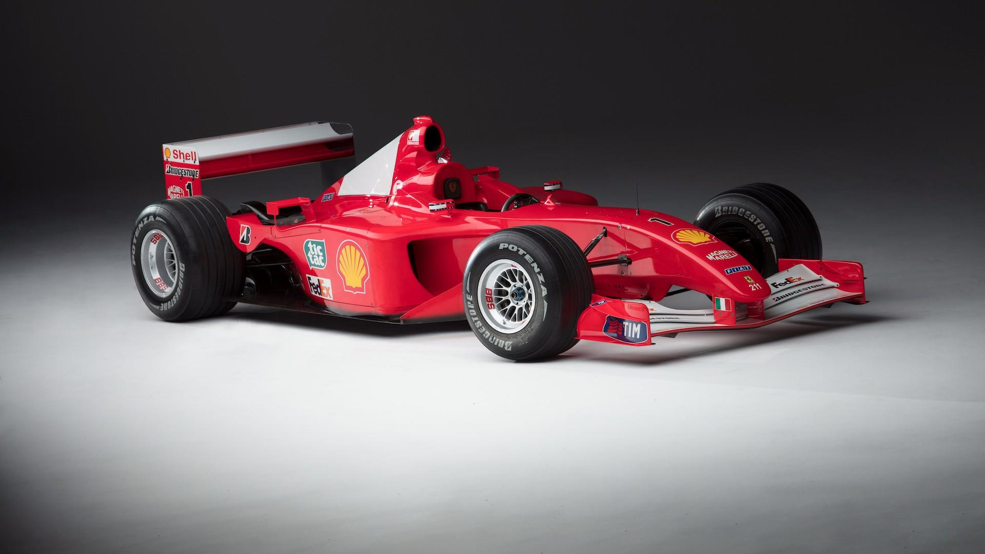 A rare chance to own one of Michael Schumacher's F1 race cars
