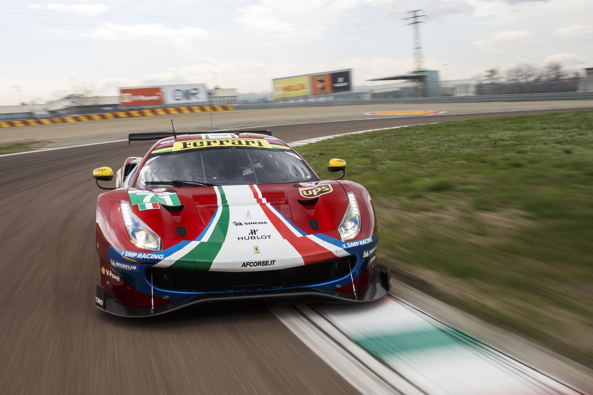 Ferrari 488 Gte Evo Debuts At Fiorano Aiming For Victory