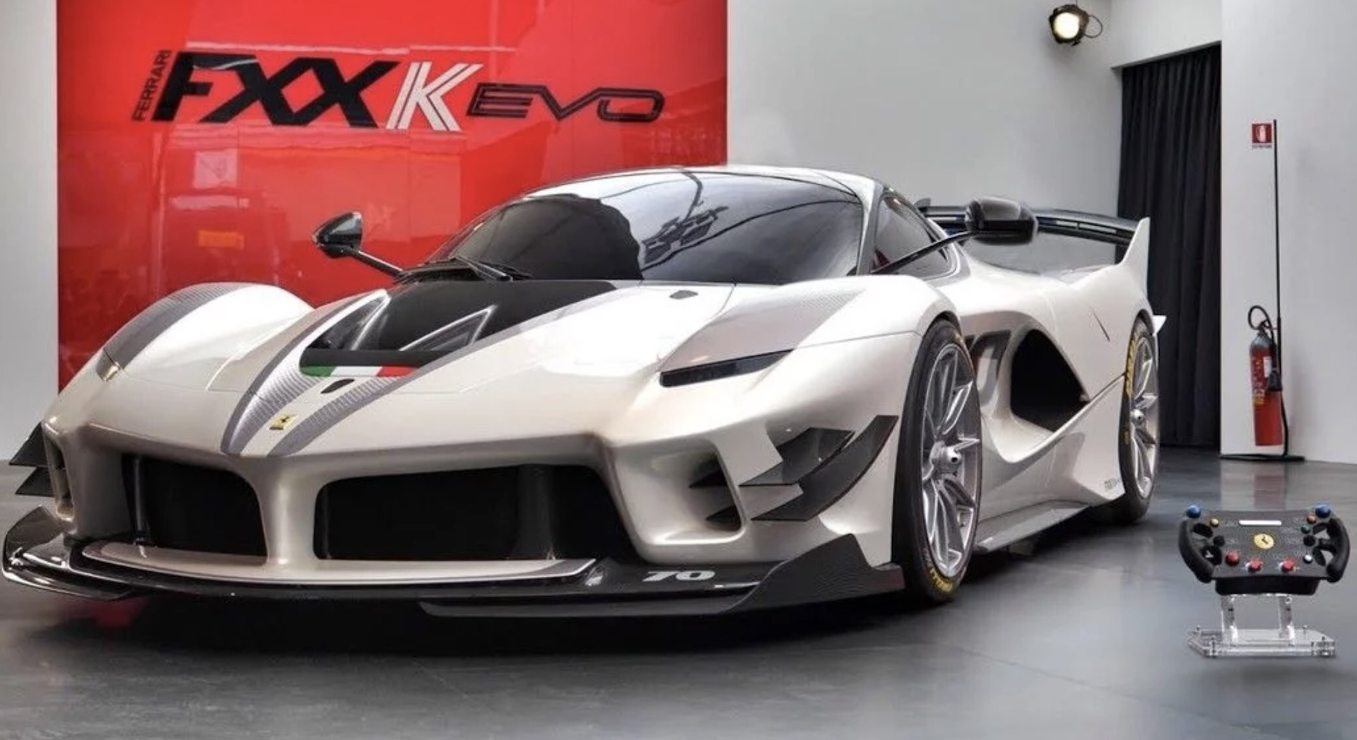 Ferrari Fxx K Evo Listed For Sale Seller Claims Street Legal Conversion Possible