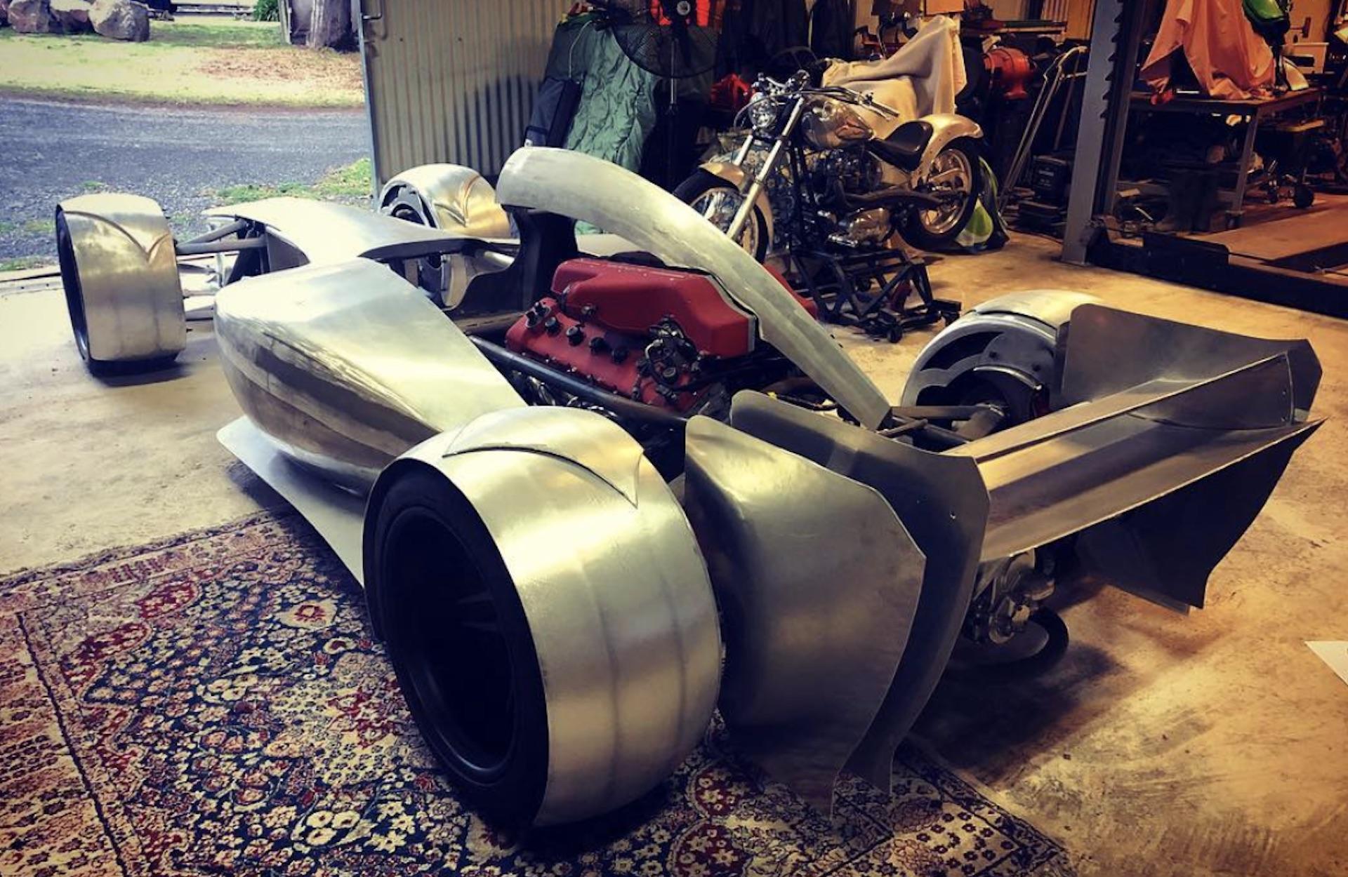 This ferrari powered f1 replica is road legal production - Replica mobel legal ...