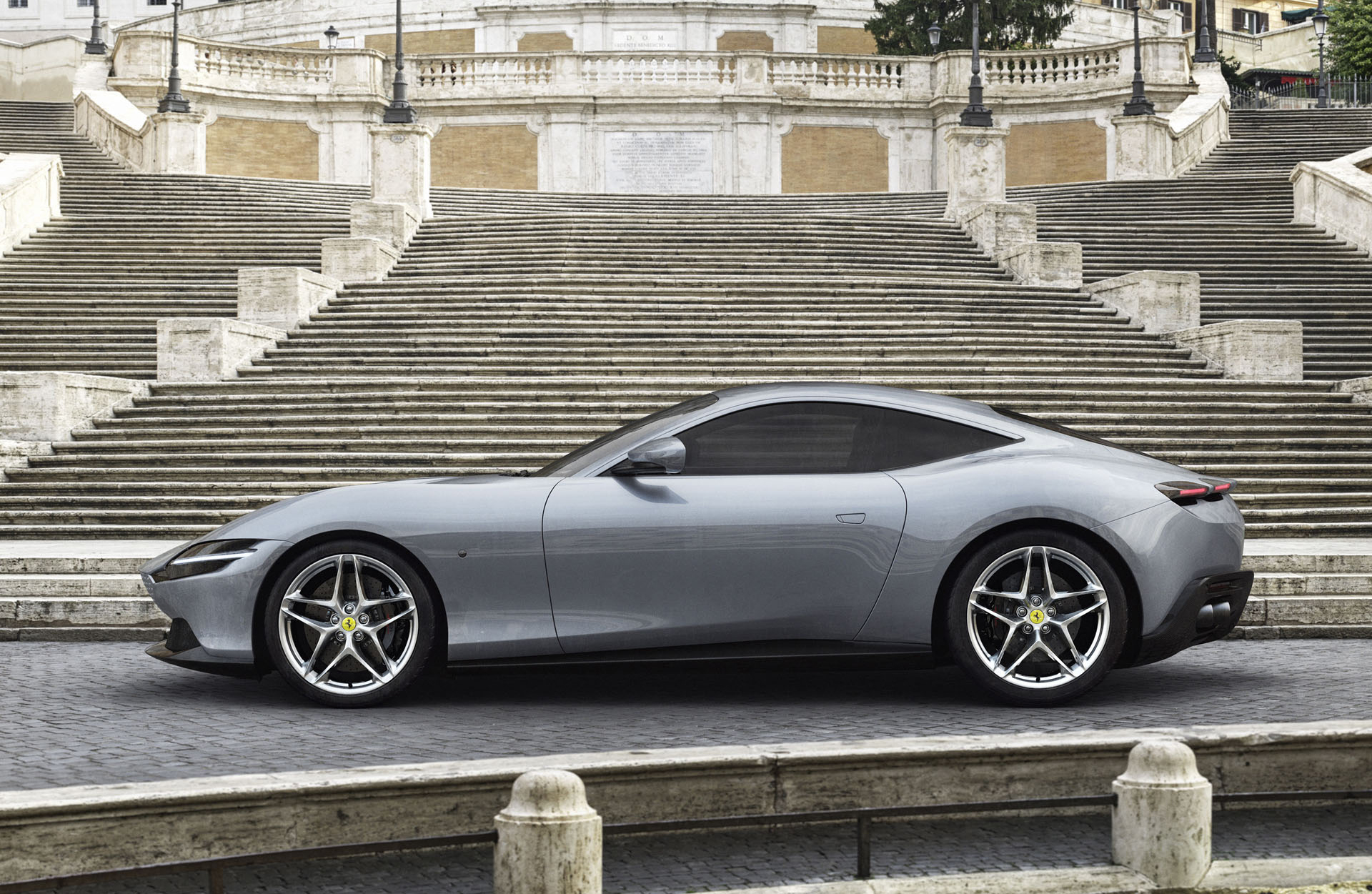 Ferrari S Mystery Coupe Revealed As The Roma
