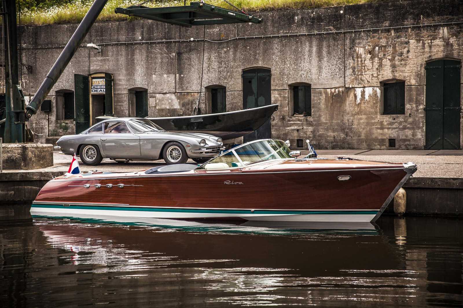 Ferruccio Lamborghini S Speedboat Restored
