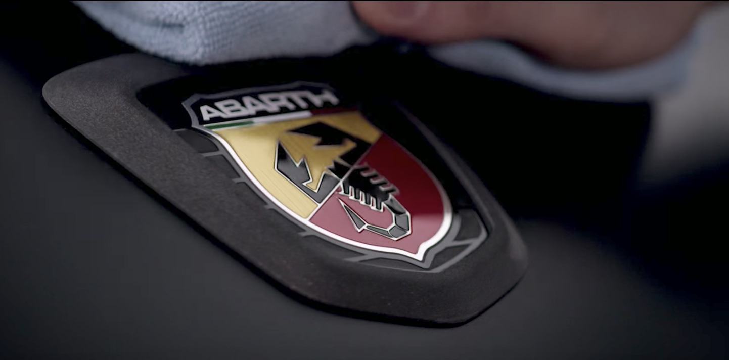 Fiat hand paints every racing stripe on the Abarth 124