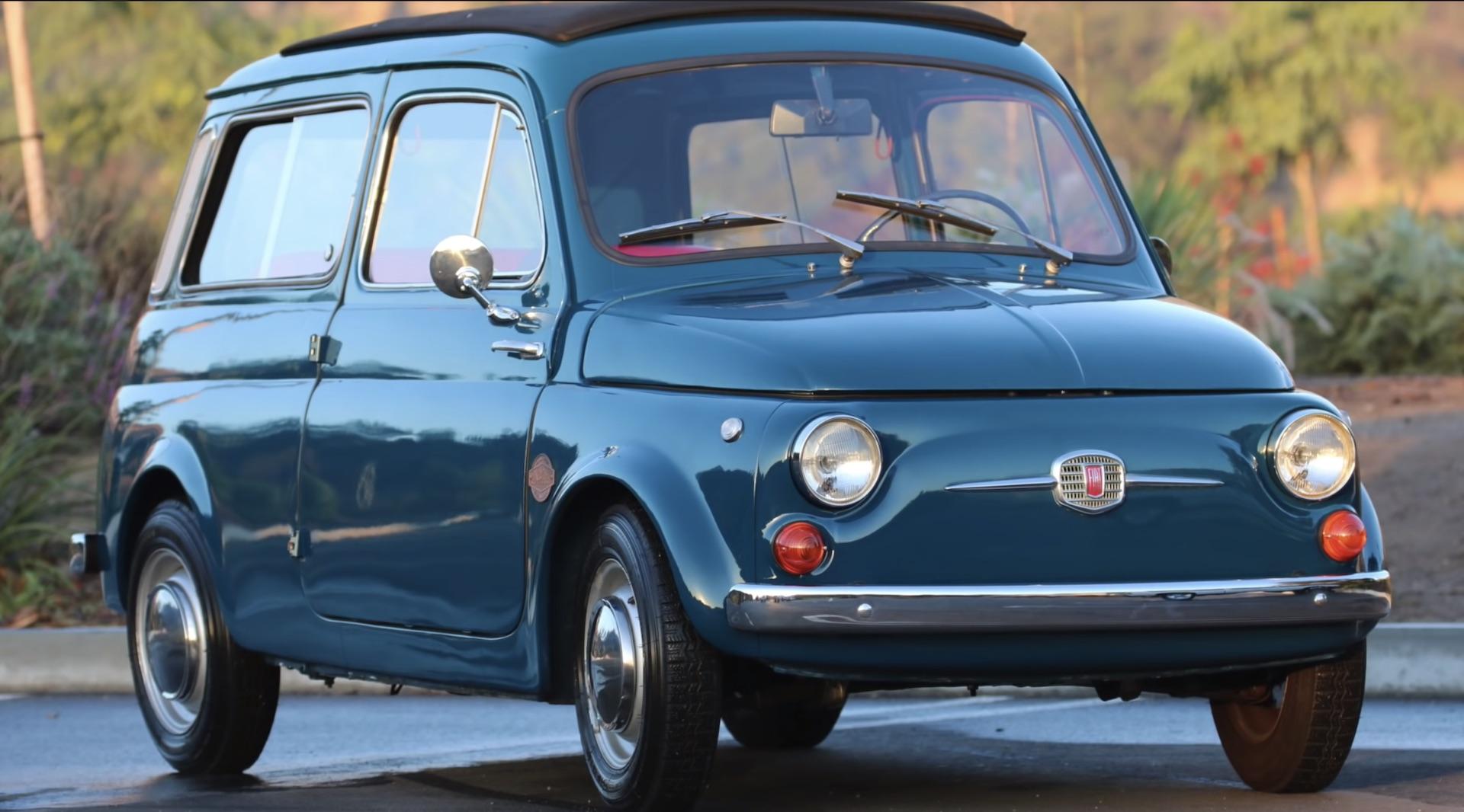 Icon Adds Electric Powertrain To 1966 Fiat 500 Giardiniera Derelict