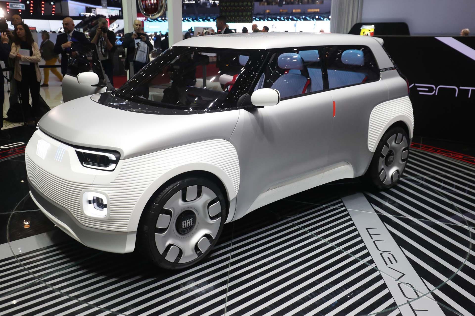 Fiat Concept Centoventi electric car opens Mopar toolbox ...