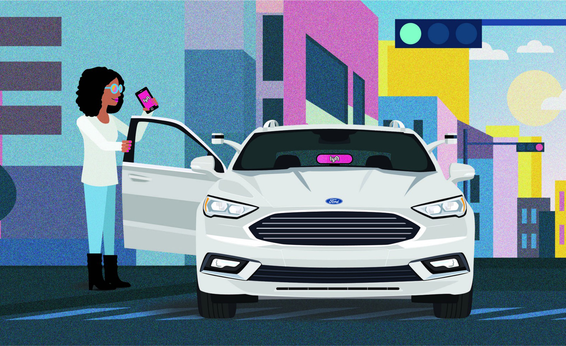 Ford and Lyft partner on self-driving cars