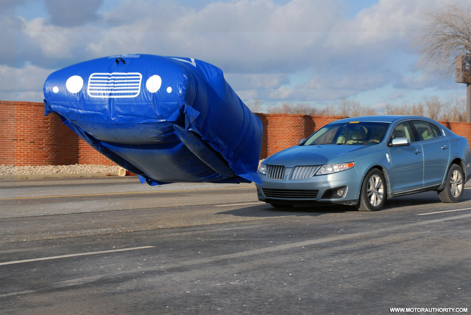 Ford Builds 10000 Balloon Car To Test Safety Systems