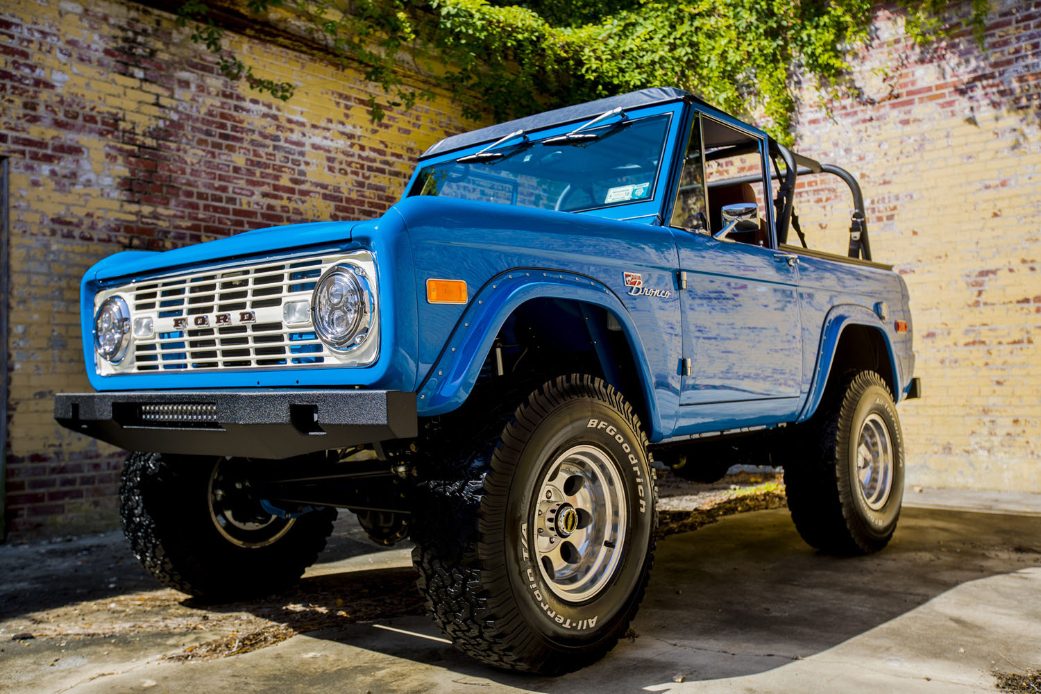 There's a new Bronco coming, but what about a restored ...