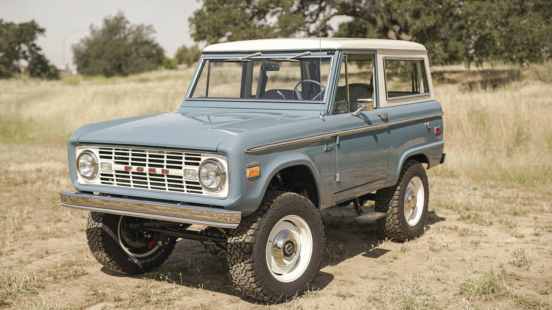 Icon puts original ford bronco back into production