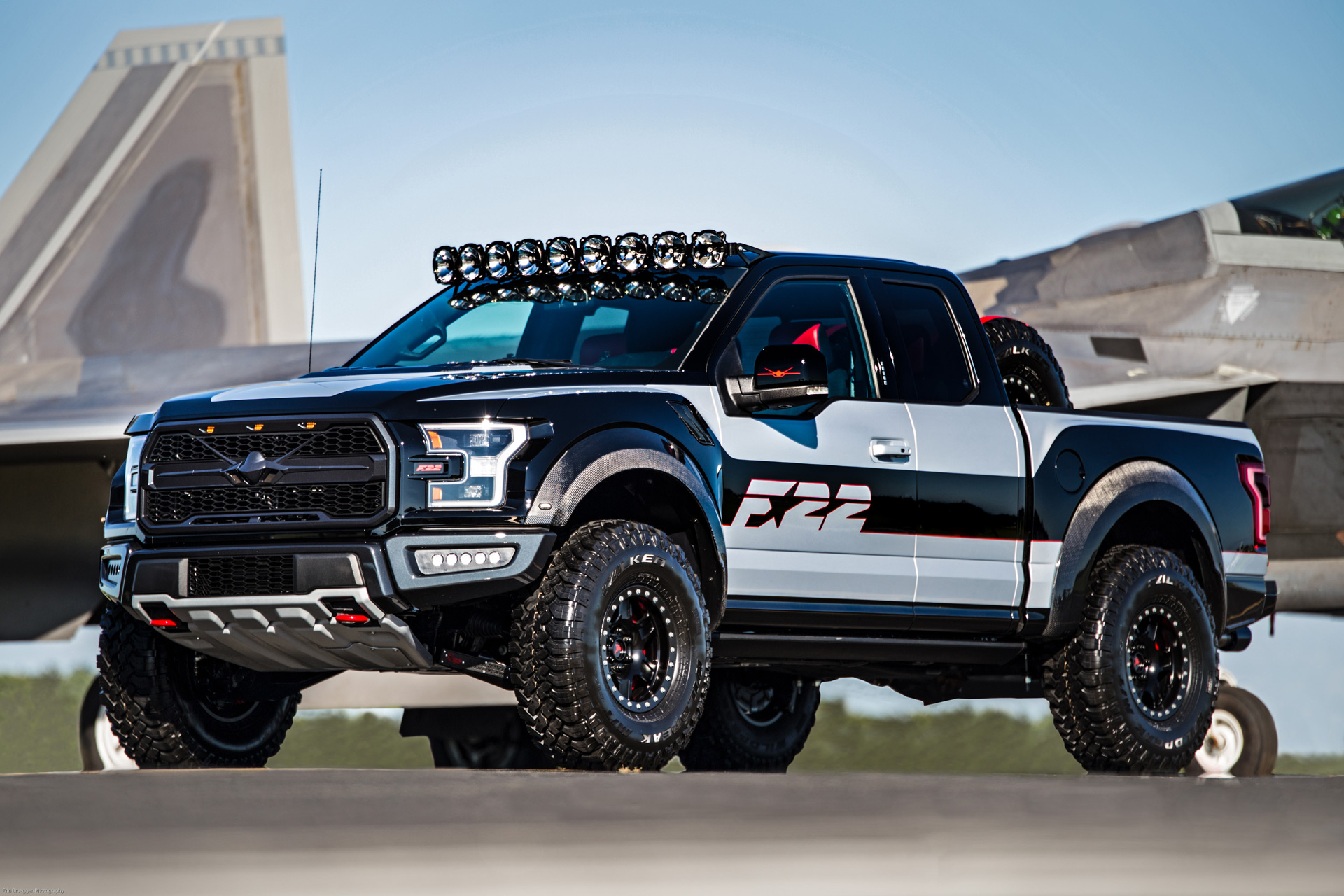 F-22-inspired F-150 Raptor raises $300K at 2017 EAA ...