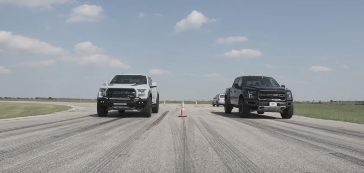 How Much Quicker Is A 2017 Hennessey Velociraptor 600 Vs A Stock Raptor