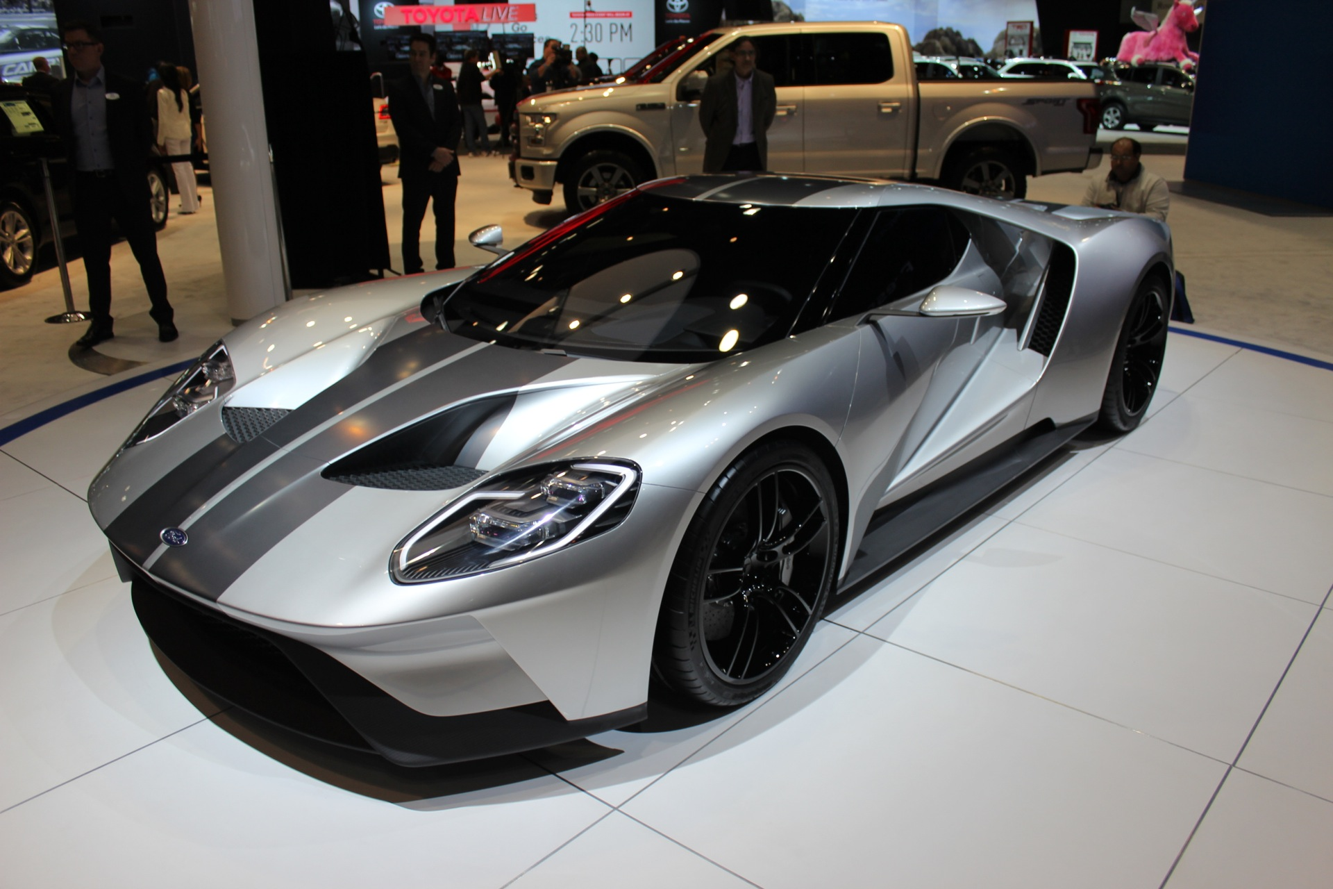 The Ford Gt Will Cost  Per Year