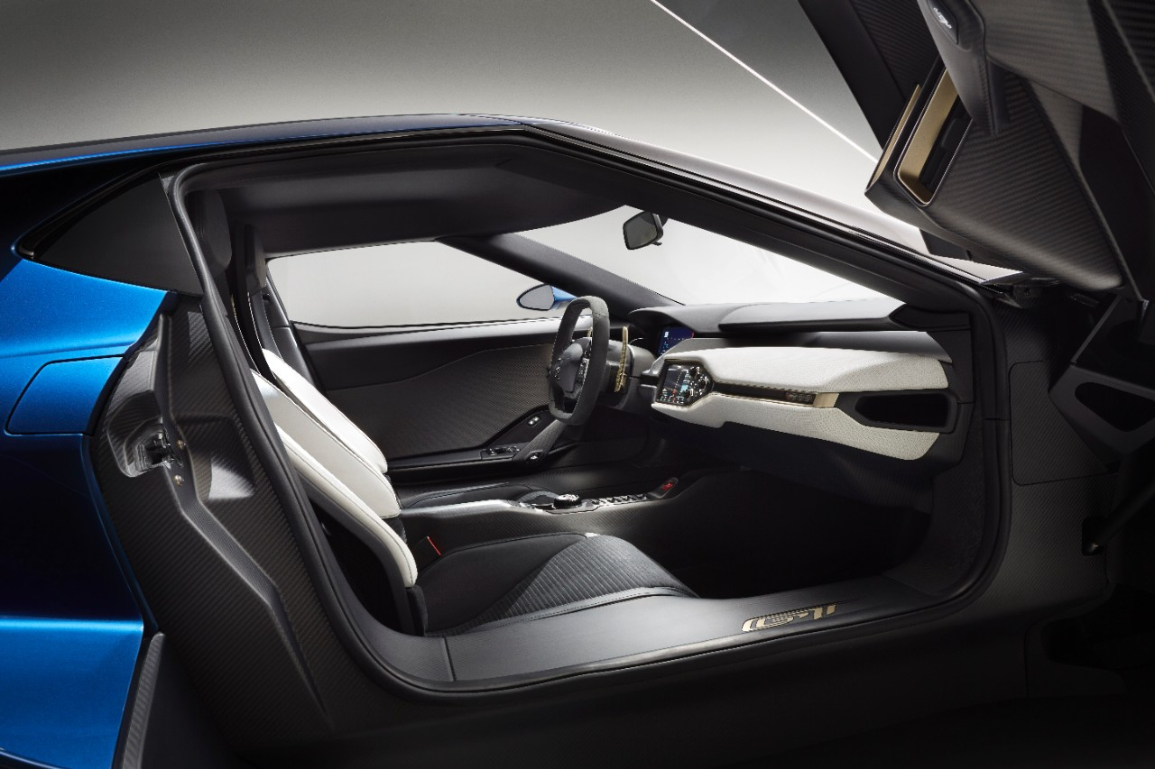 Ford Explains The Design Of The New Gt S Interior