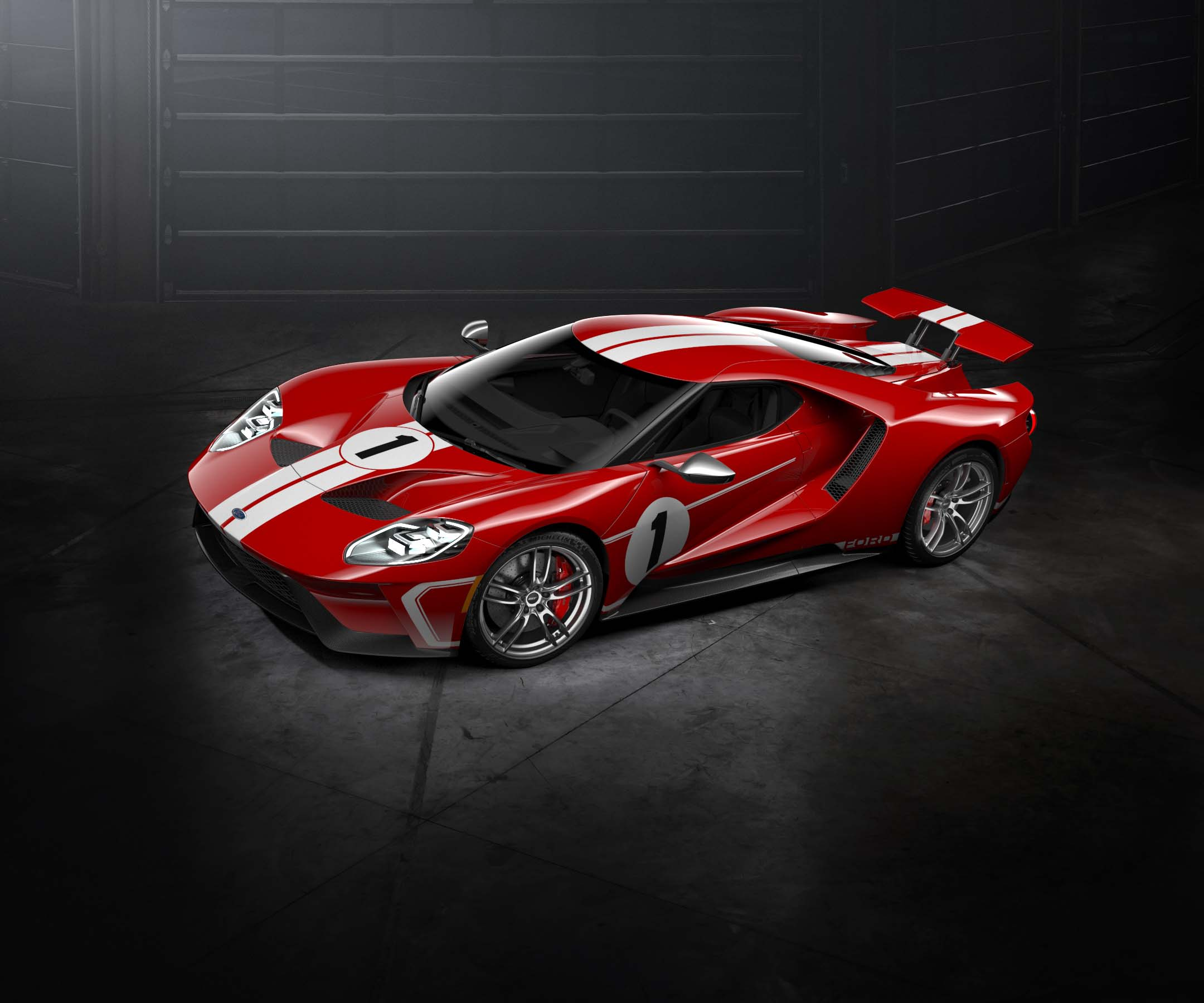 2018 Ford Gt Heritage Edition To Honor 1967 Le Mans Winner