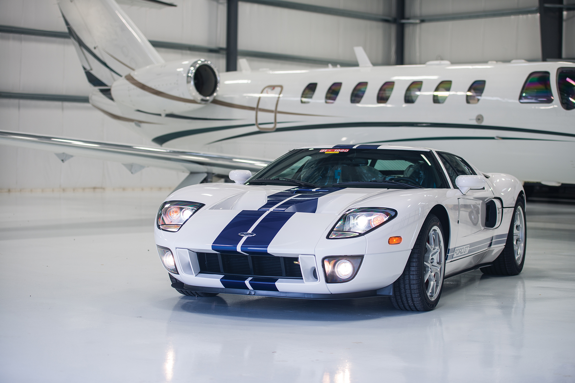 2006 Ford GT with 10.8 miles on the clock heads to auction