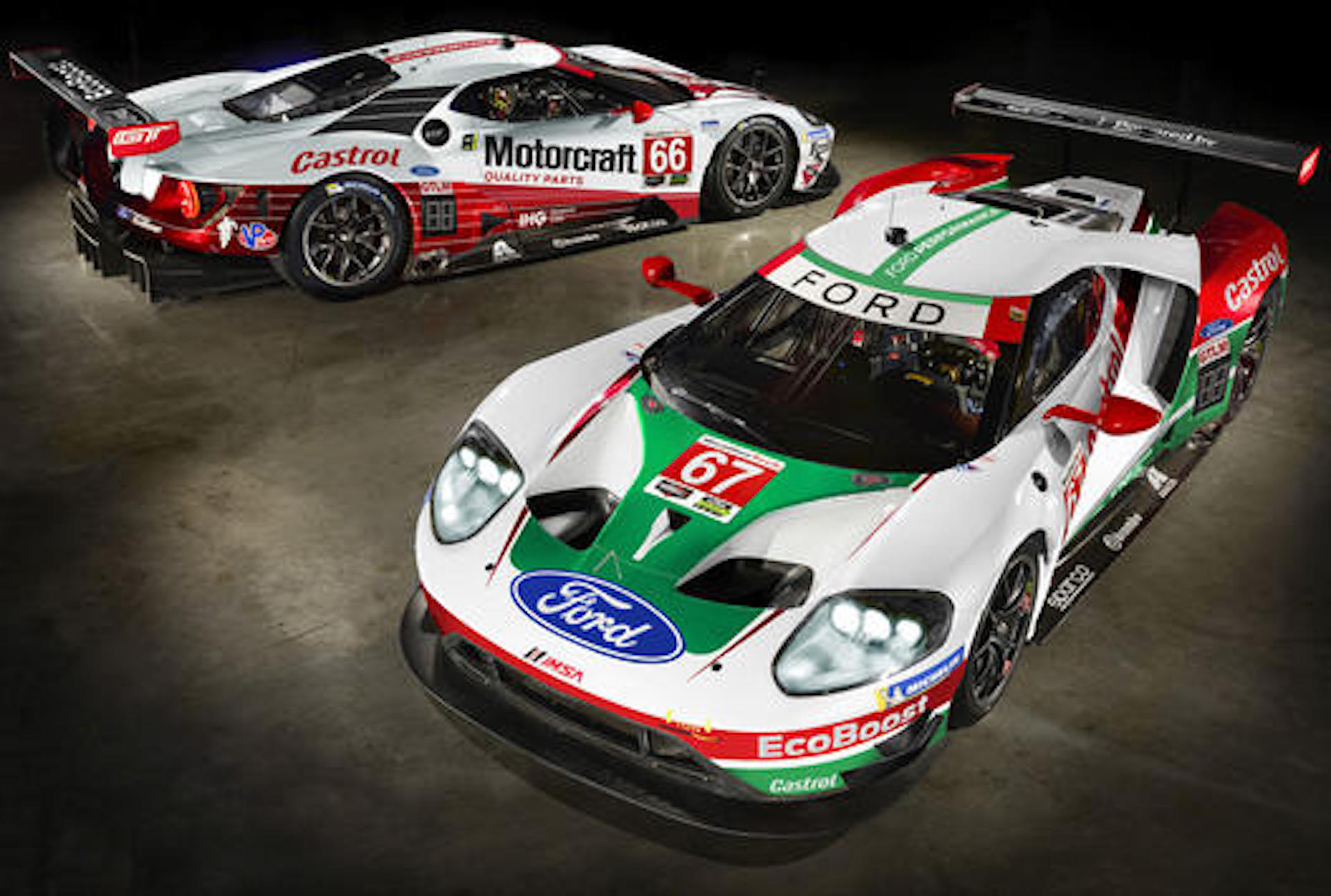 Ford Gt To Wear Historic Liveries For Rolex  At Daytona