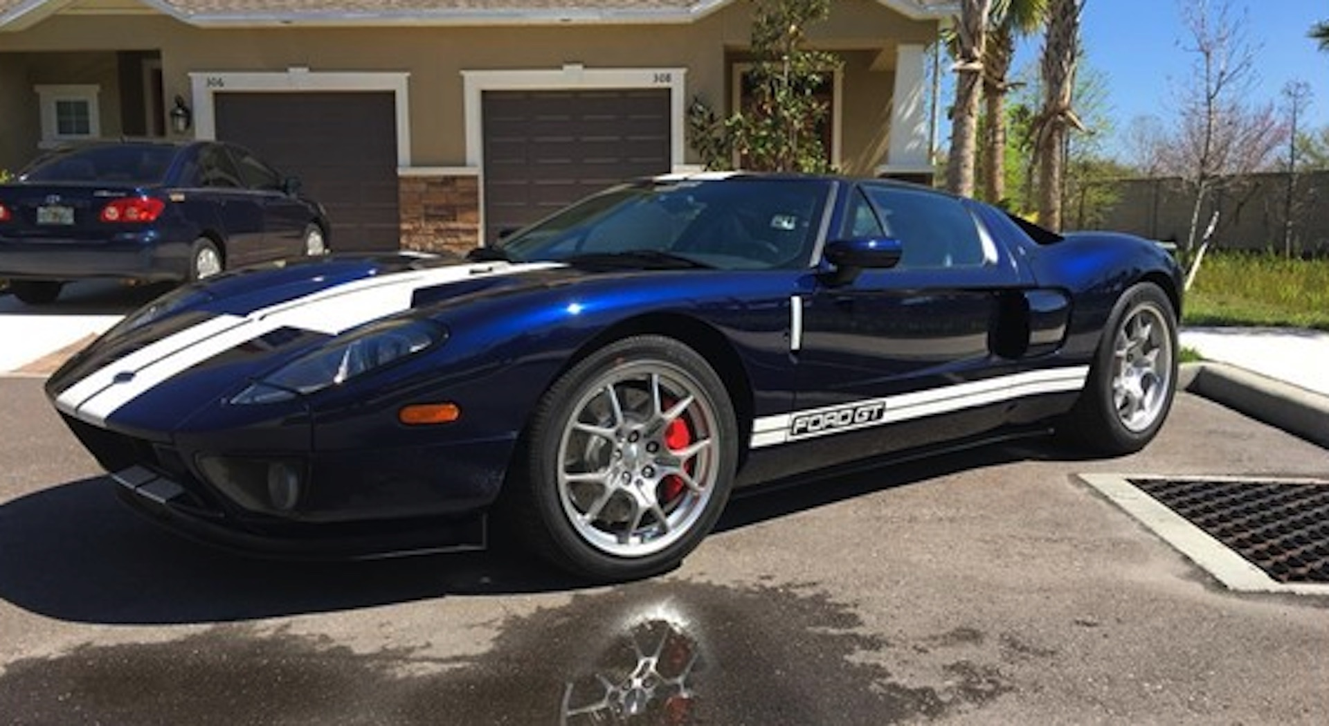 2006 Ford GT with 24 miles seeks its first owner