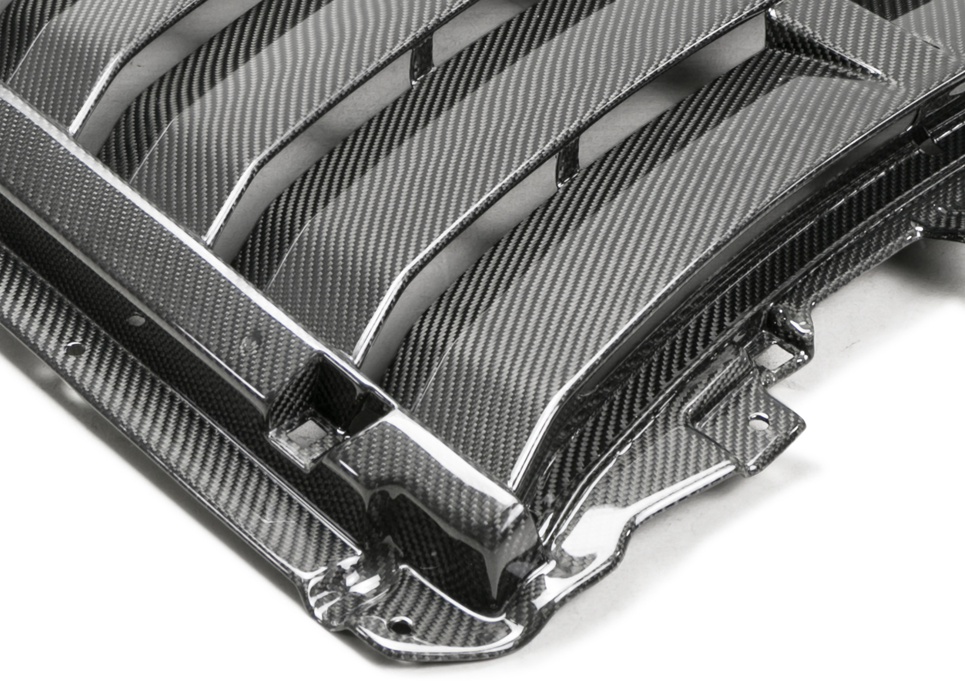 Ford Mustang GT500 carbon-fiber hood vent from Ford Performance