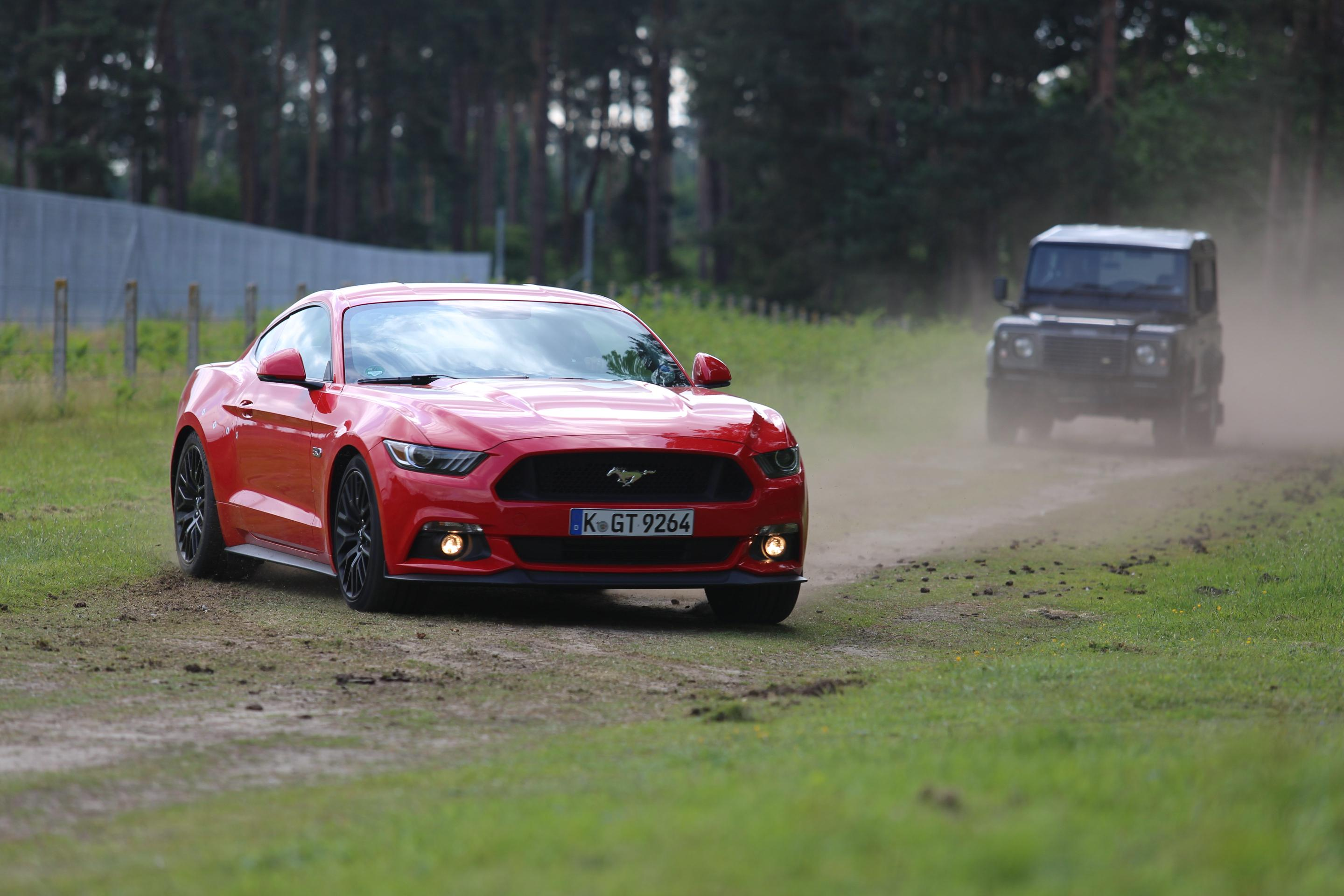 Former Stig Says Ford Mustang Makes Best Stunt Car