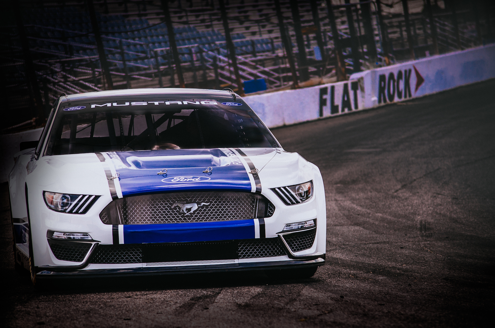 Pony up 2019 ford mustang nascar cup racer is ready for the track