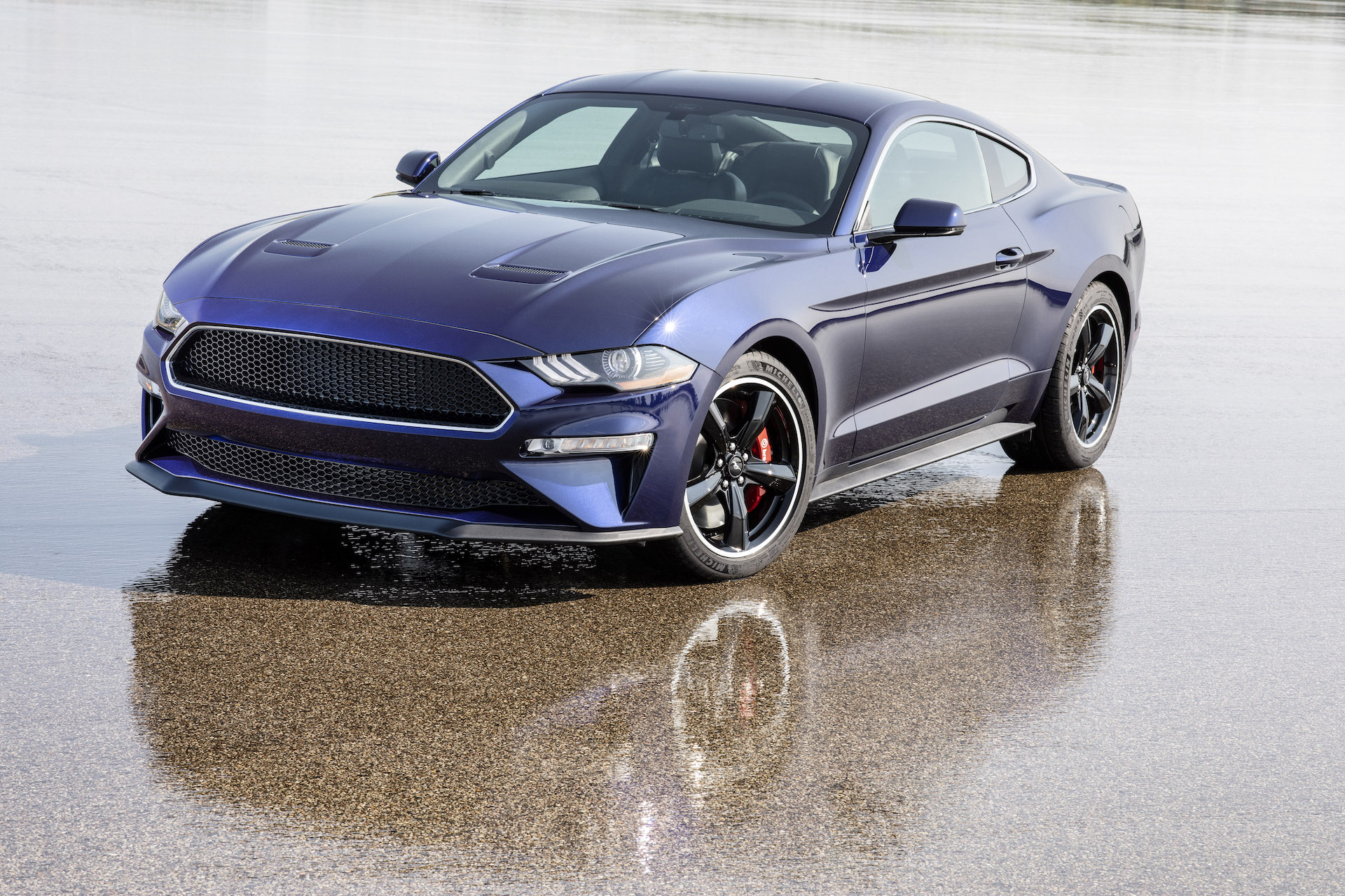 One-off Kona Blue 2019 Ford Mustang Bullitt to be raffled ...