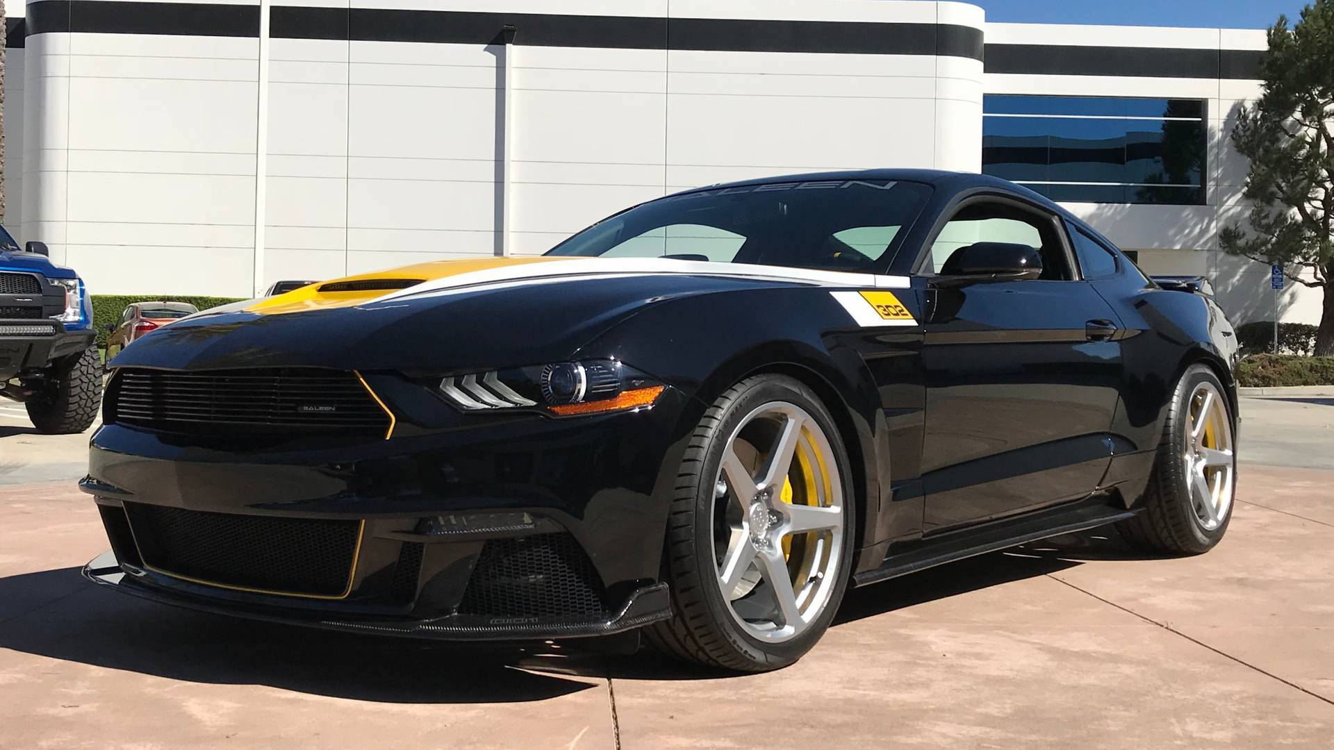 saleen celebrates 35 years with commemorative 2019 mustang. Black Bedroom Furniture Sets. Home Design Ideas