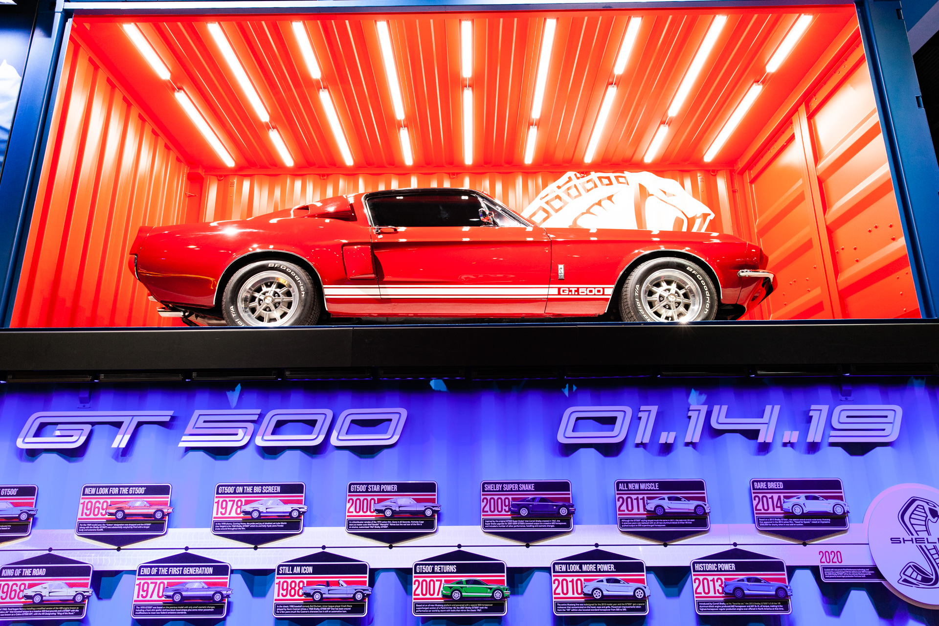 Ford saves 2020 mustang shelby gt500 for 2019 detroit auto show