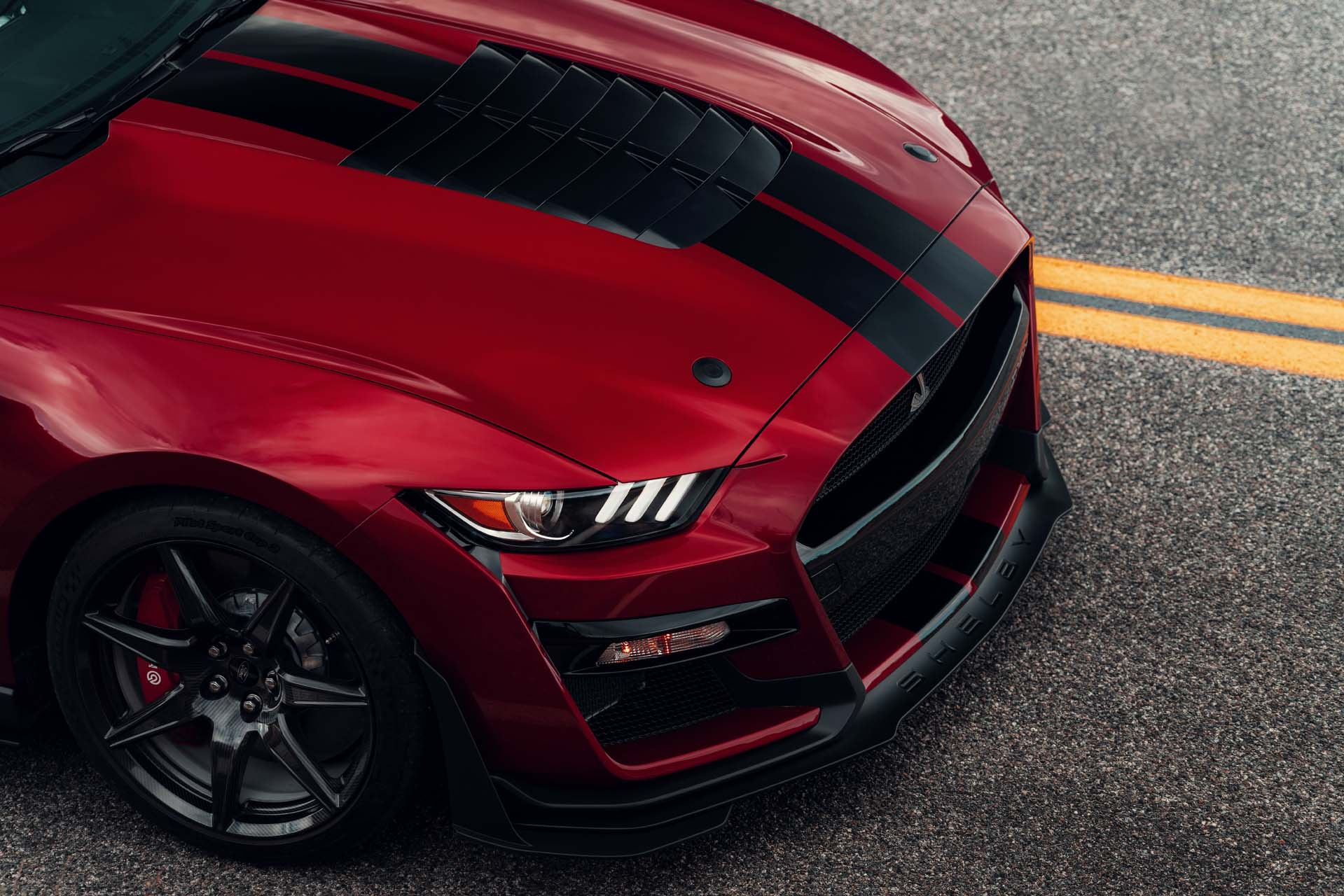 The 2020 Ford Mustang Shelby GT500 needs its hood pins ...