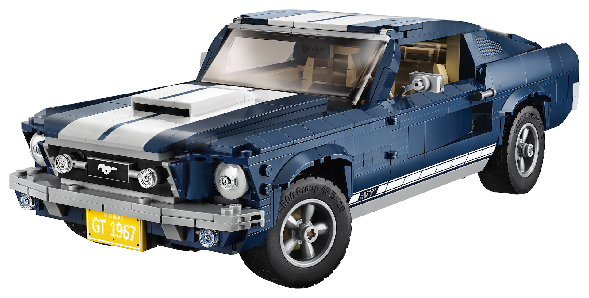 Build Your Own Ford >> Brick By Brick Build Your Own Lego 1967 Ford Mustang Gt