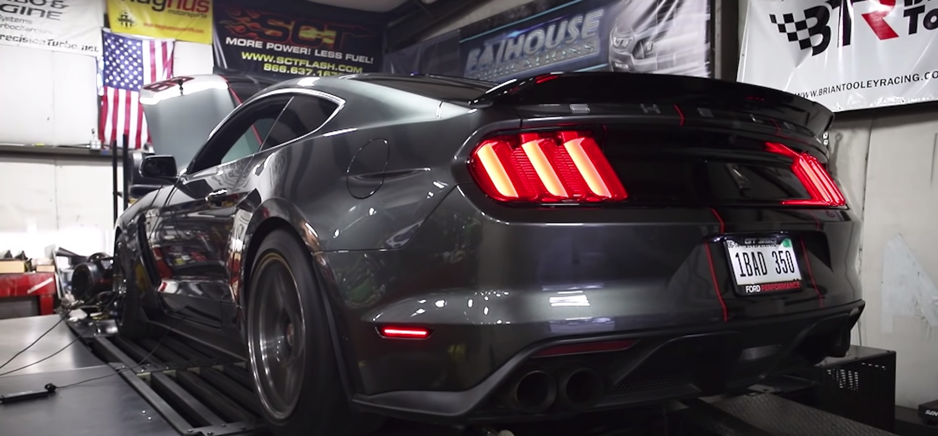Twin-turbo Mustang Shelby GT350 with 1,348 whp makes the ears bleed