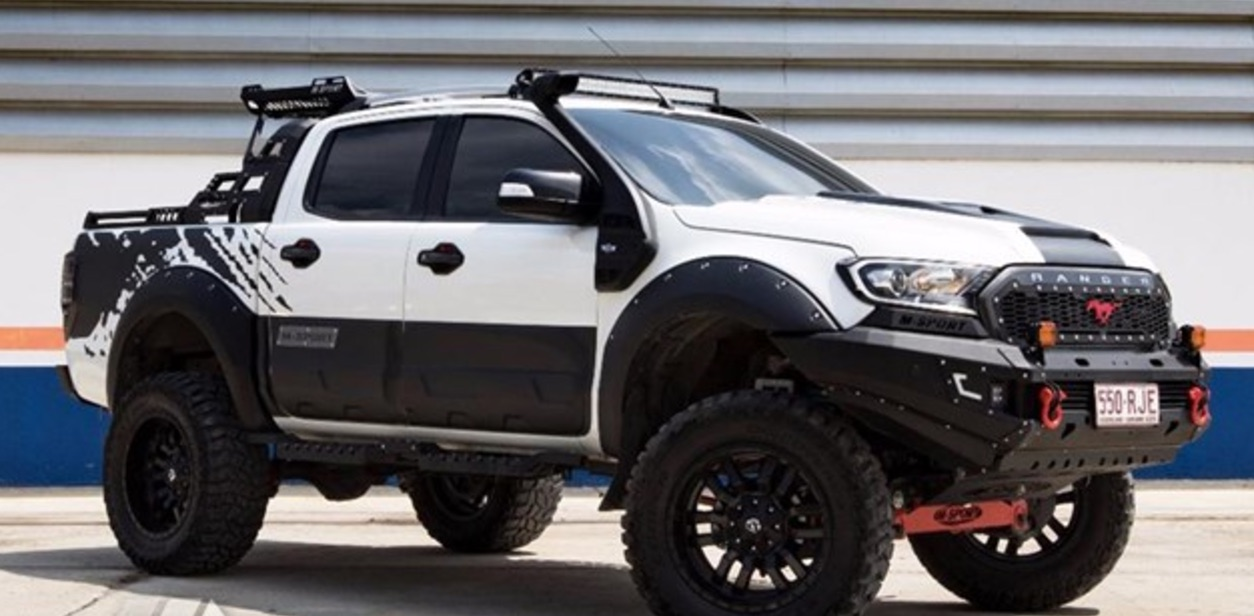 ford dealer creates wild ranger pickup truck. Black Bedroom Furniture Sets. Home Design Ideas