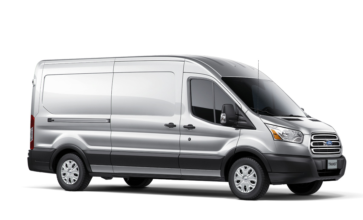 2014 ford transit van fuel efficient diesel option unveiled