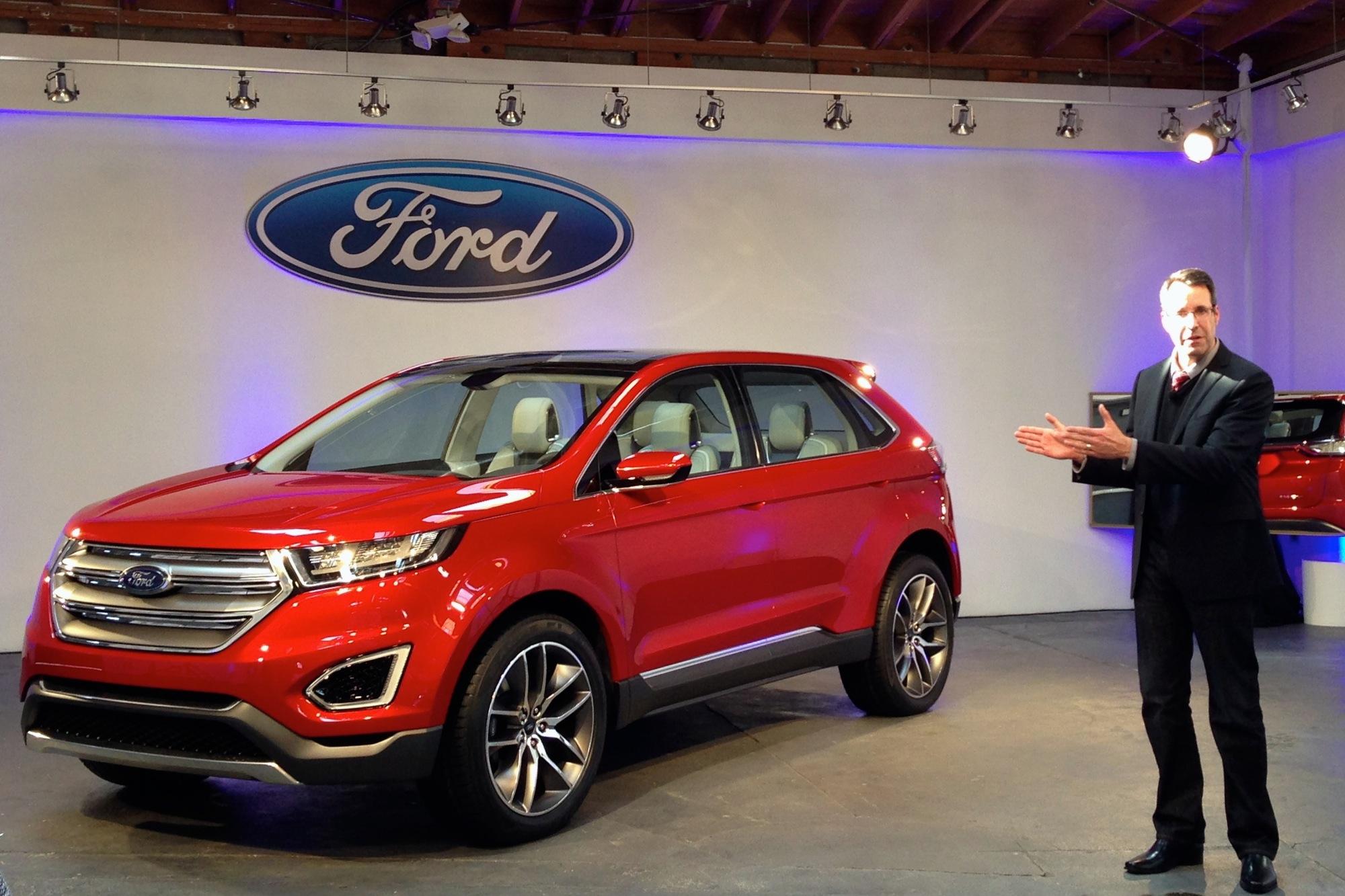 ford edge previewed   la auto show concept