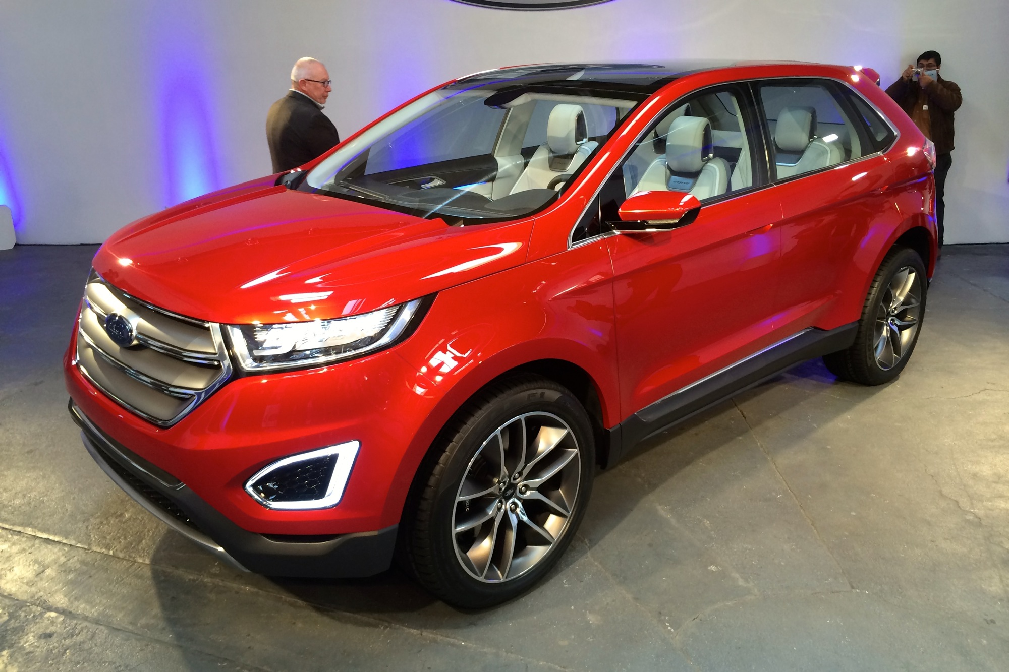 ford edge concept preview video