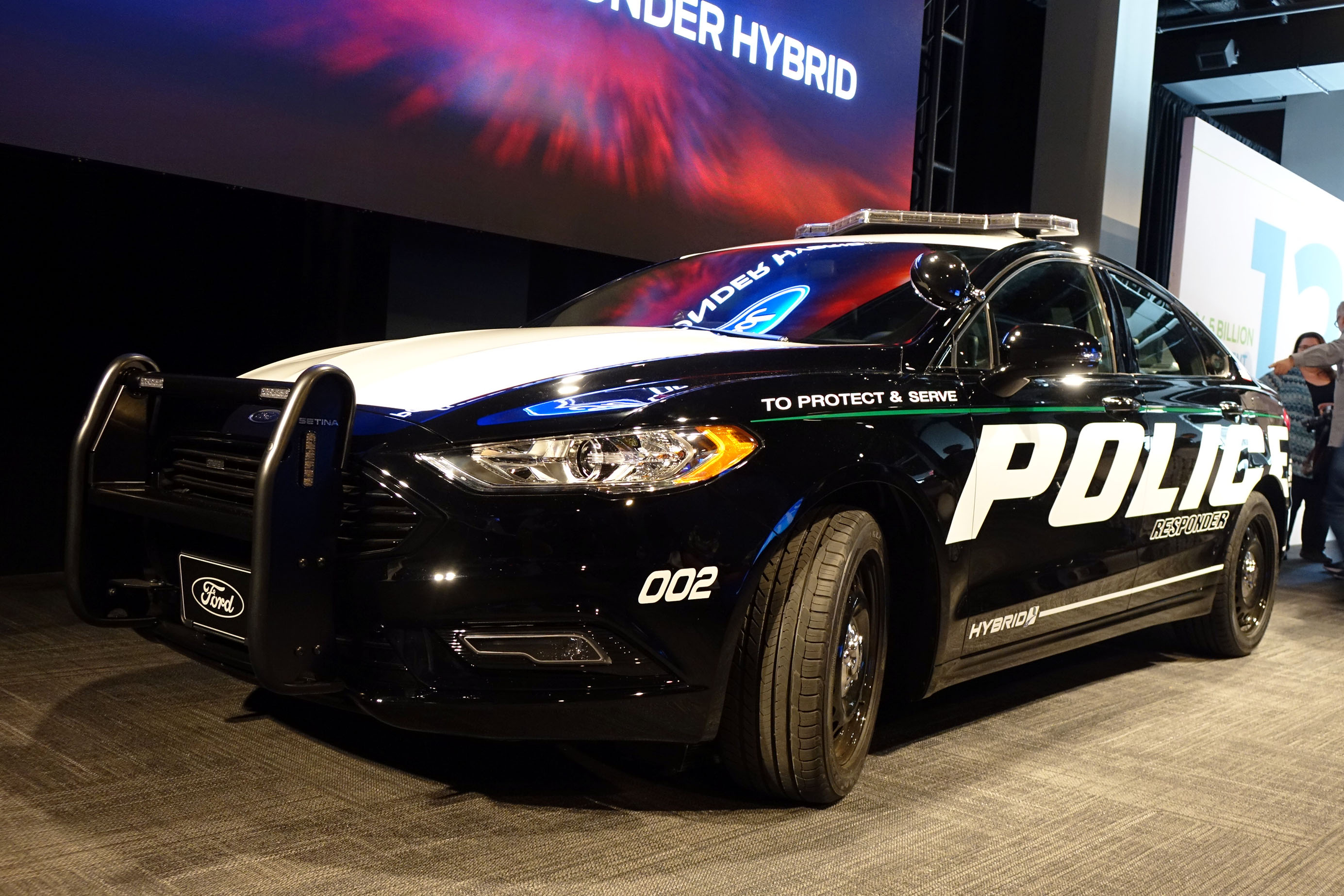 Ford requests exception to electric car noise rule for police cruisers