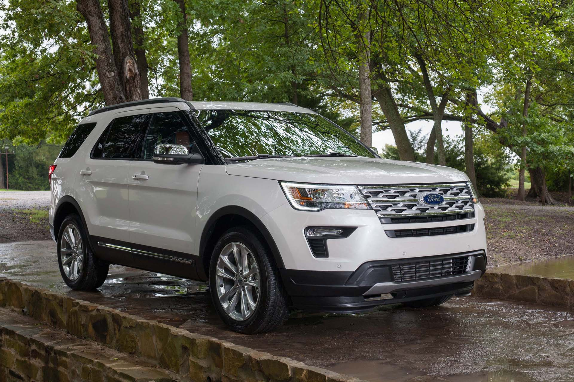 2019 Ford Explorer Review Ratings Specs Prices And Photos The Car Connection