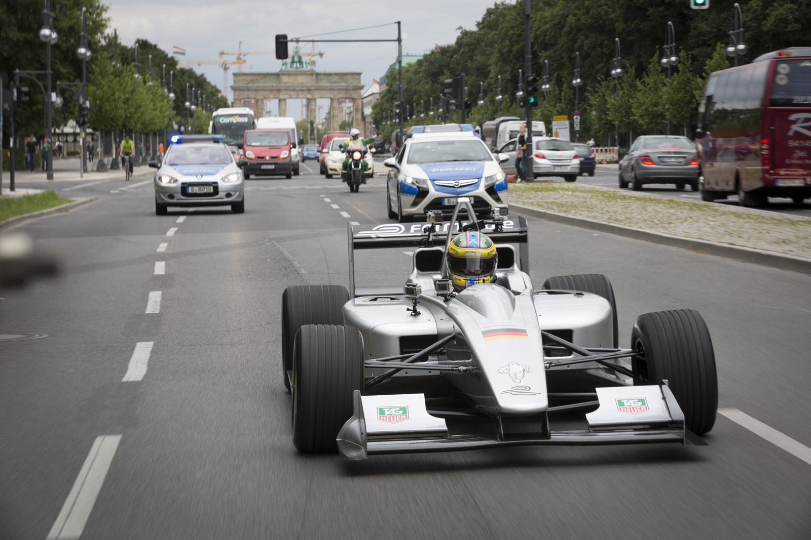 Formula E Electric Racing Schedule Confirmed For
