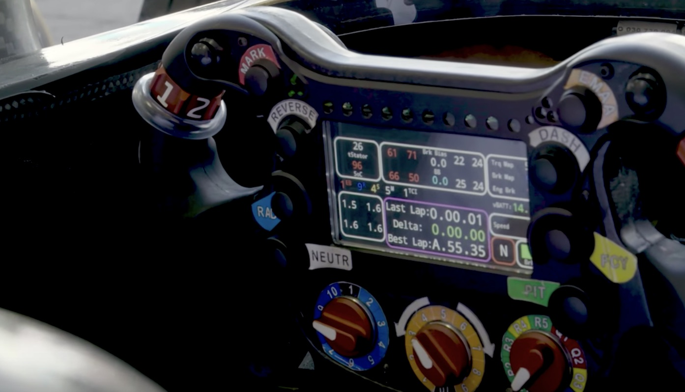 What Do The Buttons On A Formula E Steering Wheel Do