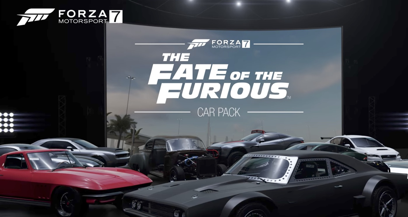 """""""Forza Motorsport 7"""" reveals """"The Fate of the Furious"""" downloadable car pack"""