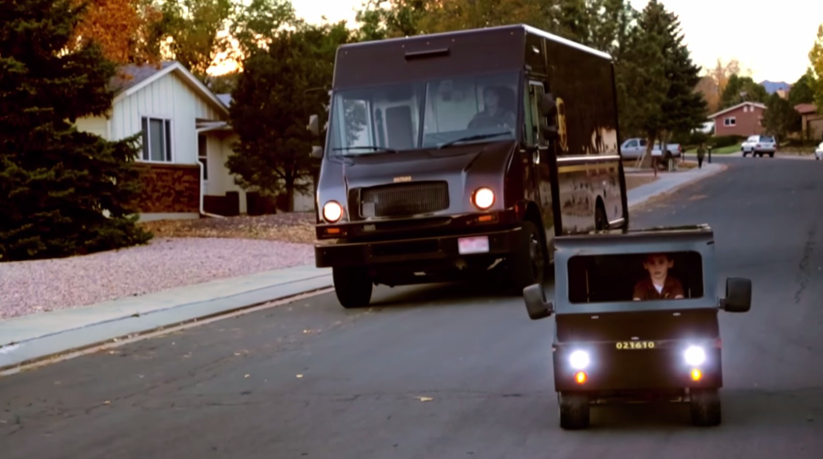 This UPS-Loving Kid Gets His Dream Ride, Grows Hearts ...
