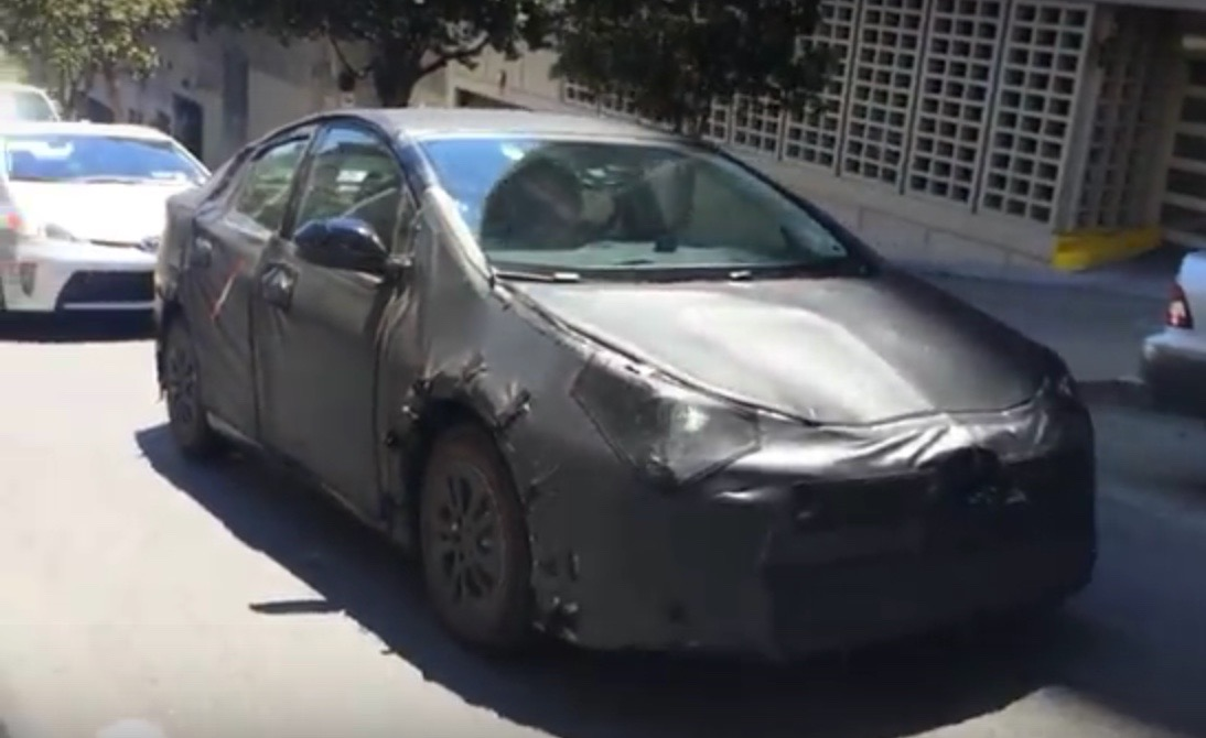 Toyota San Francisco >> 2016 Toyota Prius Spy Video New Hybrid In San Francisco Testing