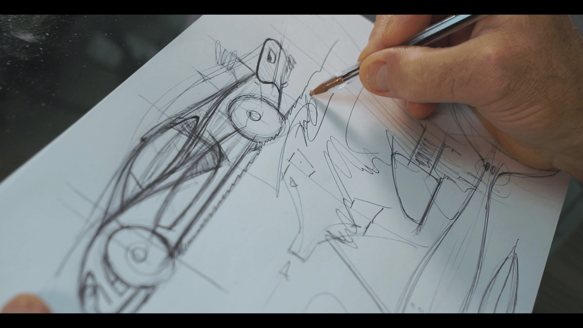 Buy these sketches from McLaren P1 and modern Mini designer Frank Stephenson to help a good cause