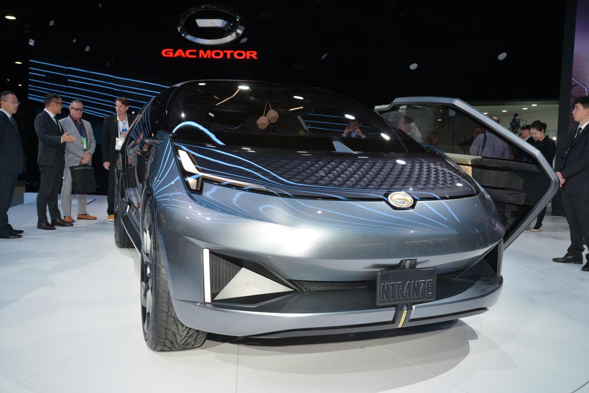 GAC returns to Detroit auto show with Entranze concept ...