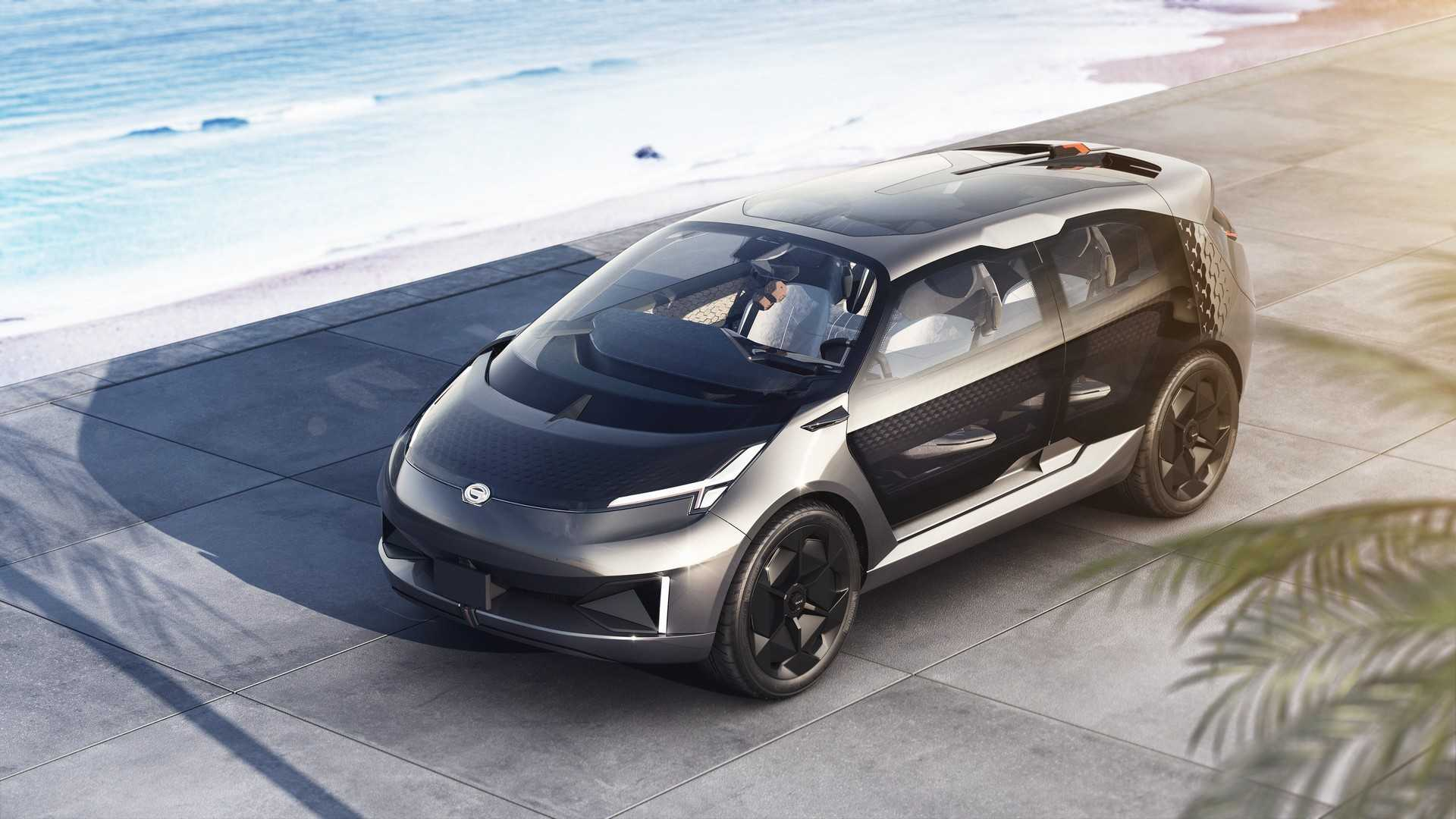 Concept Cars 2019: GAC Motor Shows Electric Three-row Minivan Concept, Delays