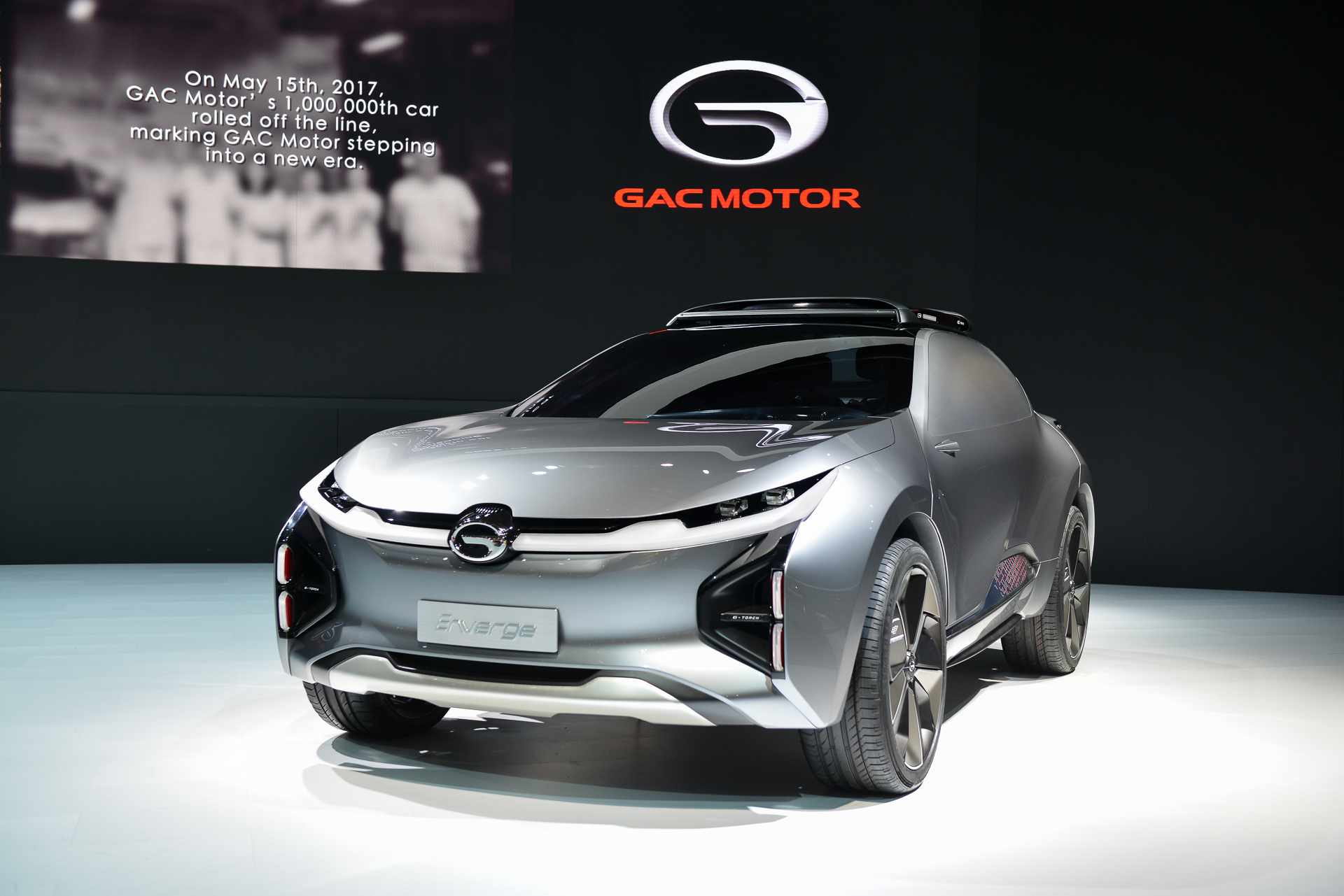 Chinas GAC Returns To Detroit Auto Show With GA Sedan Enverge Concept - Concept car show