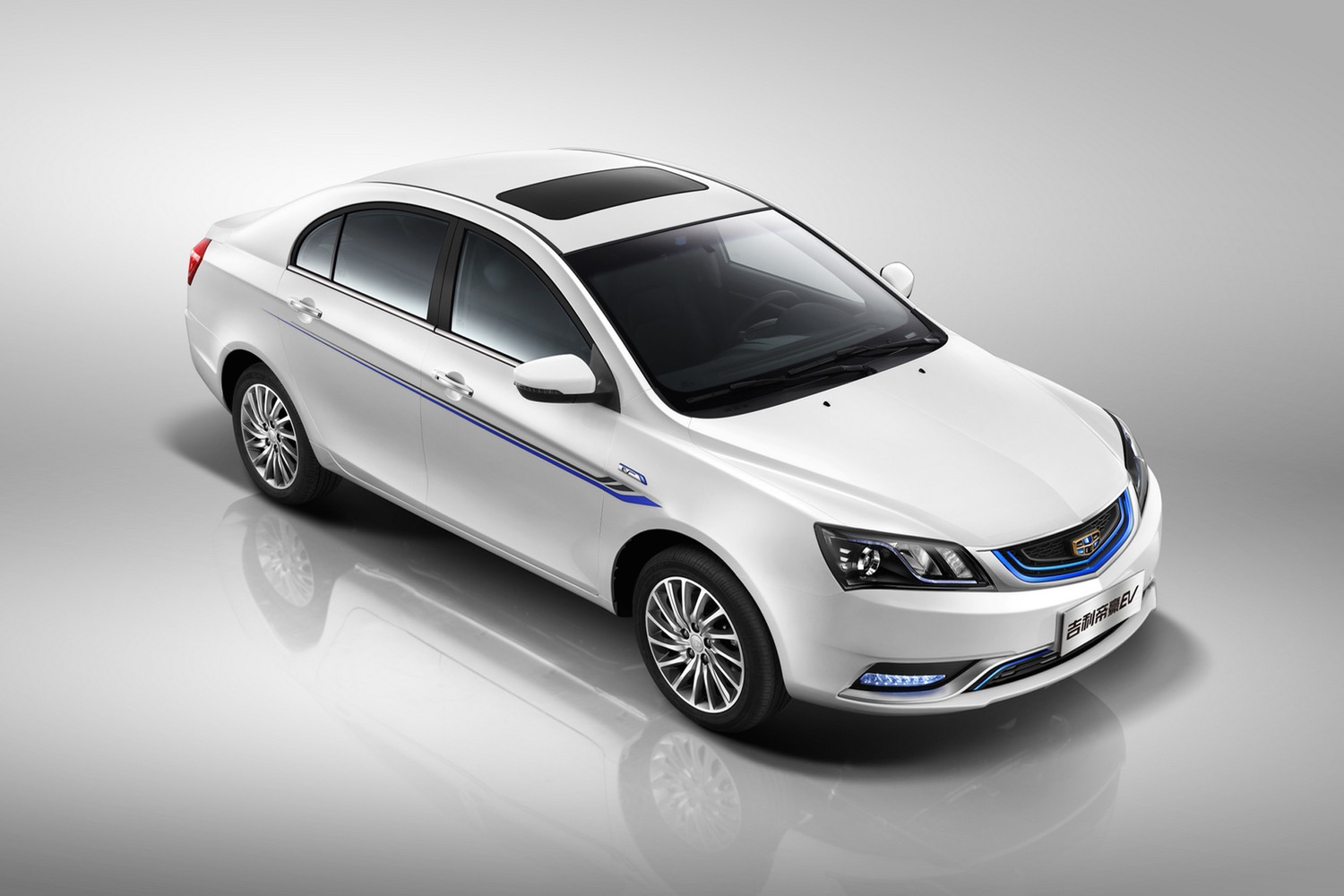 Geely Emgrand EV, Chinese Electric Car, Driven By British
