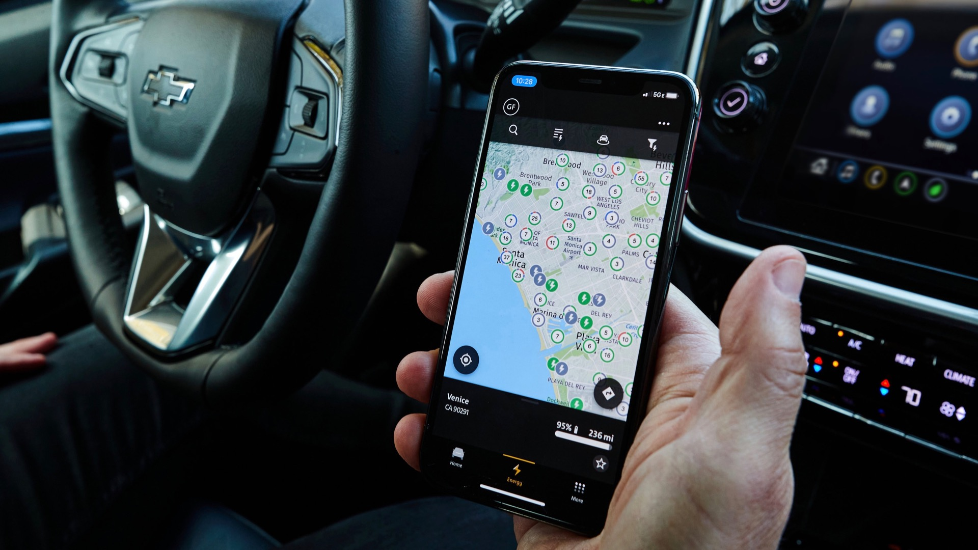 EV charging networks and automakers all want you to use their apps while you drive